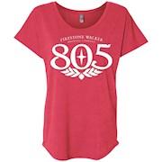 805 Beer – Ladies' Triblend Dolman Sleeve