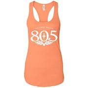 805 Beer – Ladies Ideal Racerback Tank