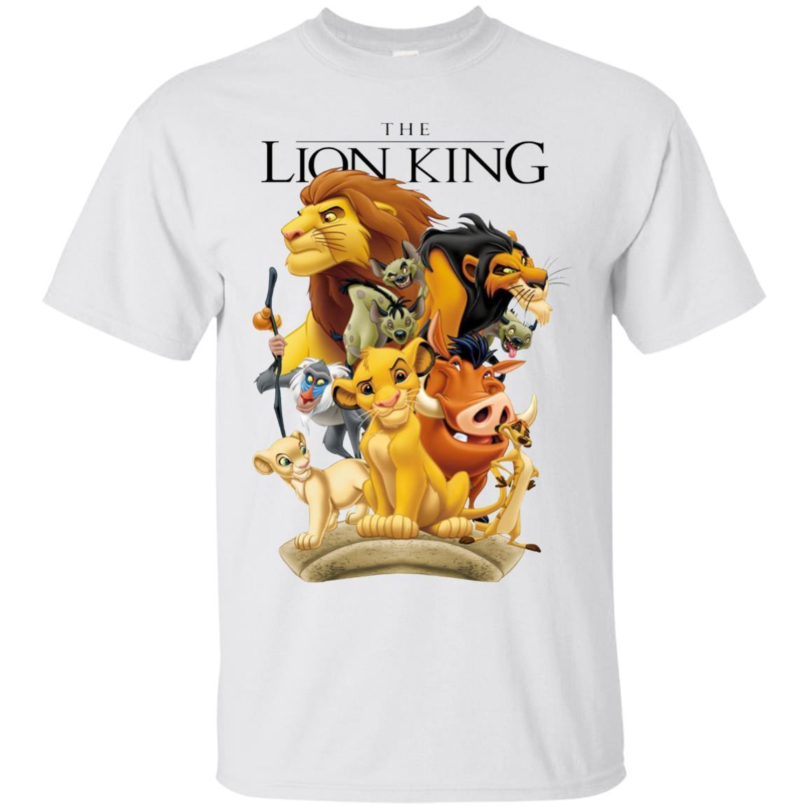 Disney Lion King Pride Land Characters Graphic T-Shirt