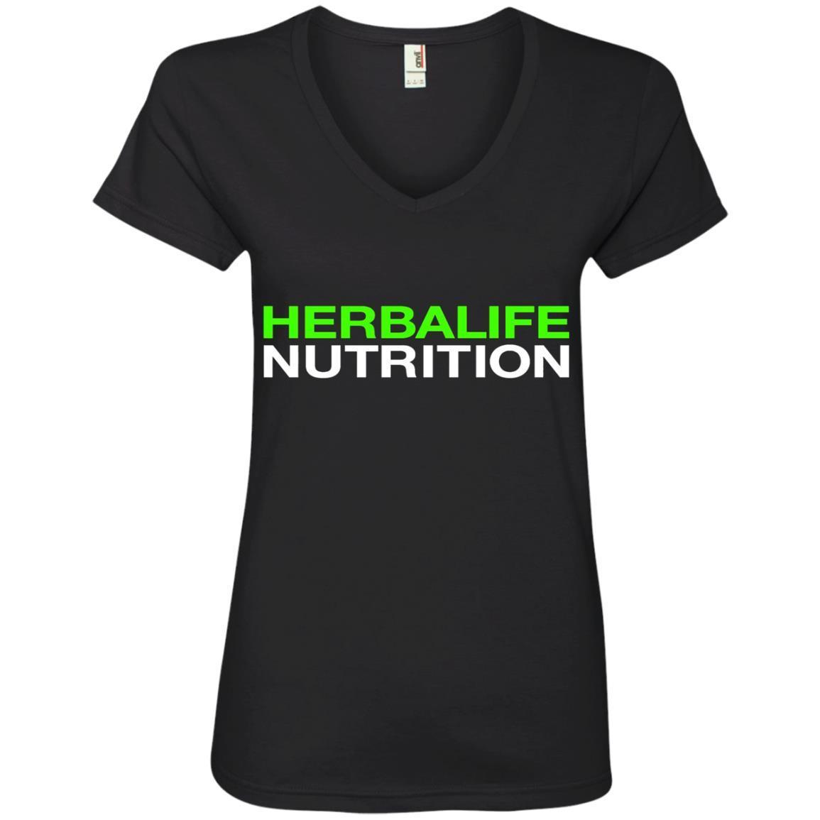 HERBALIFE NUTRITION – Ladies' V-Neck T-Shirt