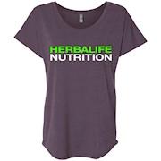 HERBALIFE NUTRITION – Ladies' Triblend Dolman Sleeve