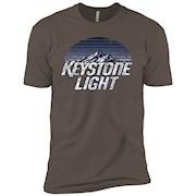 Keystone Light Beer Classic Look – Short Sleeve T-Shirt