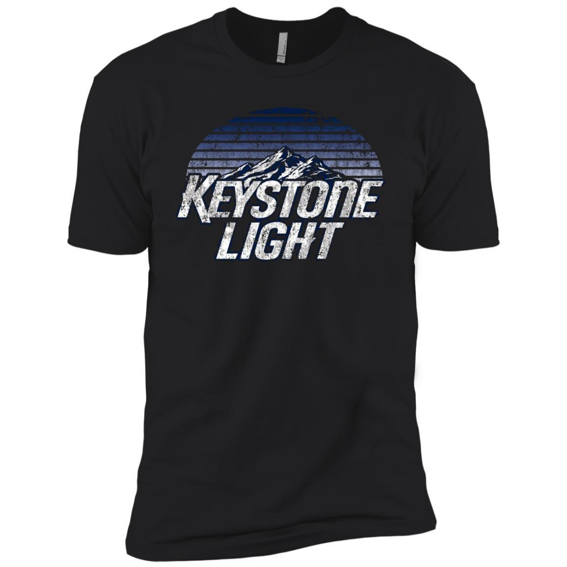 Keystone Light Beer Classic Look – Short Sleeve T-Shirt