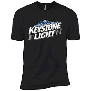 Keystone Light Beer – Short Sleeve T-Shirt