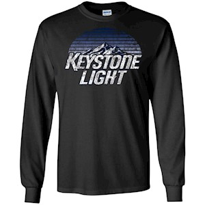 Keystone Light Beer Classic Look – LS T-Shirt