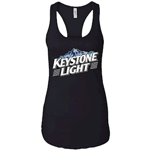 Keystone Light Beer – Ladies Ideal Racerback Tank