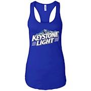 Keystone Light Beer – Ladies Ideal Racerback Tank