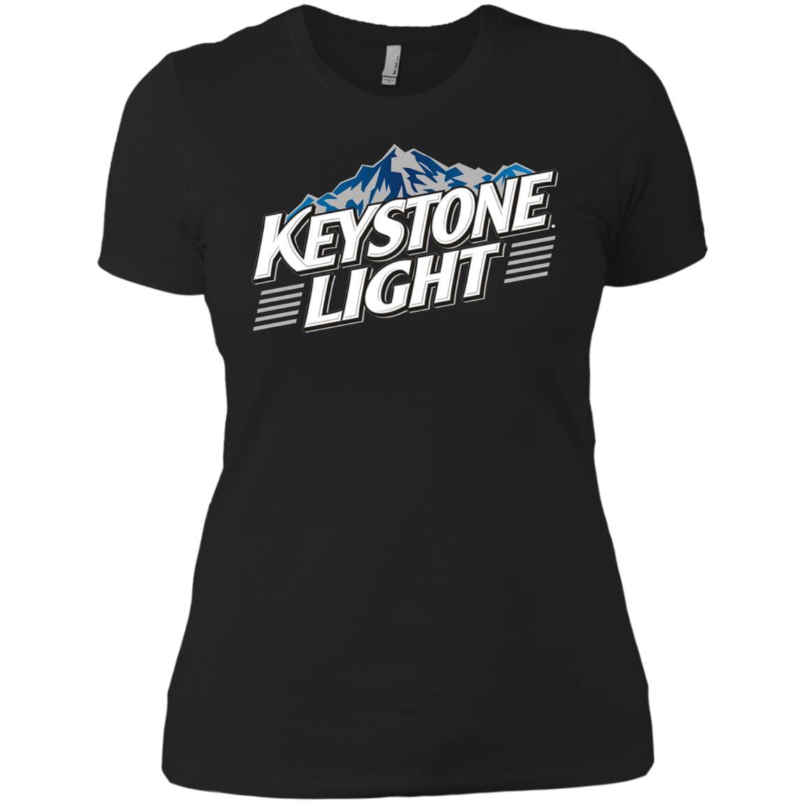 Keystone Light Beer – Ladies' Boyfriend T-Shirt