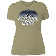 Keystone Light Beer Classic Look – Ladies' Boyfriend T-Shirt