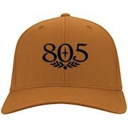 805 Beer Black – Port & Co. Twill Cap