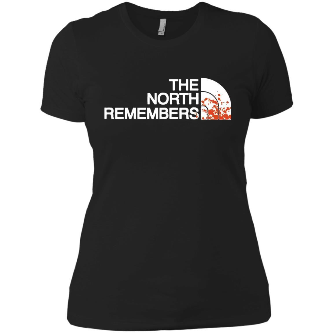 The North Remembers North Face Got – Ladies' Boyfriend T-Shirt