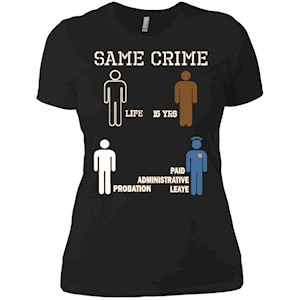 Same Crime – Ladies' Boyfriend T-Shirt