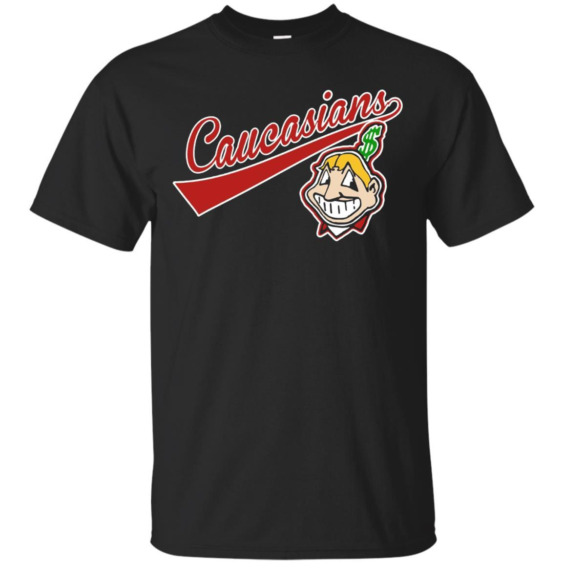 Cleveland Caucasians Native Go Indians T-Shirt