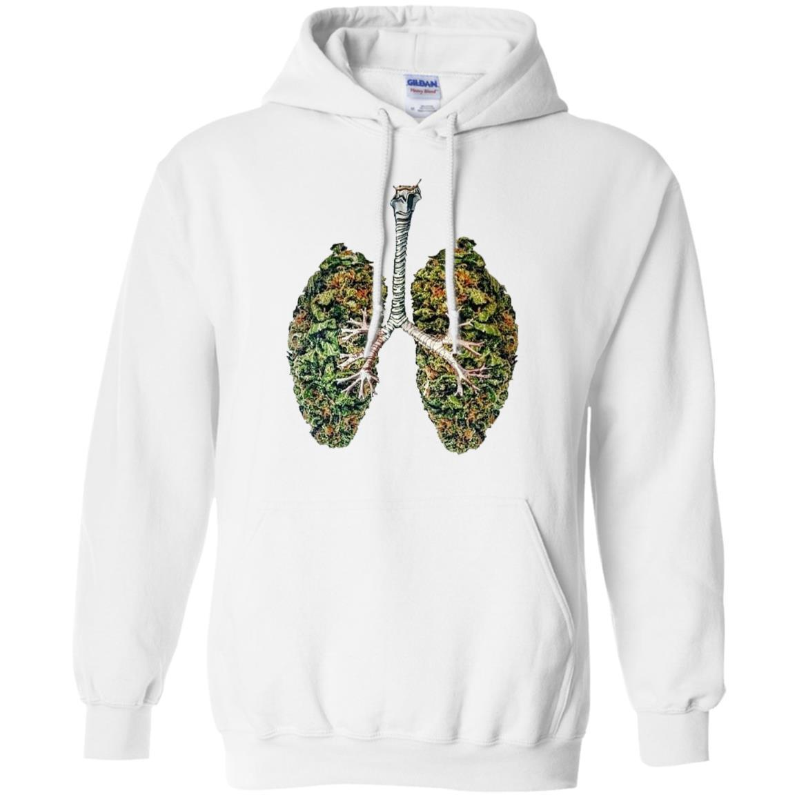My Weed Lungs – Pullover Hoodie