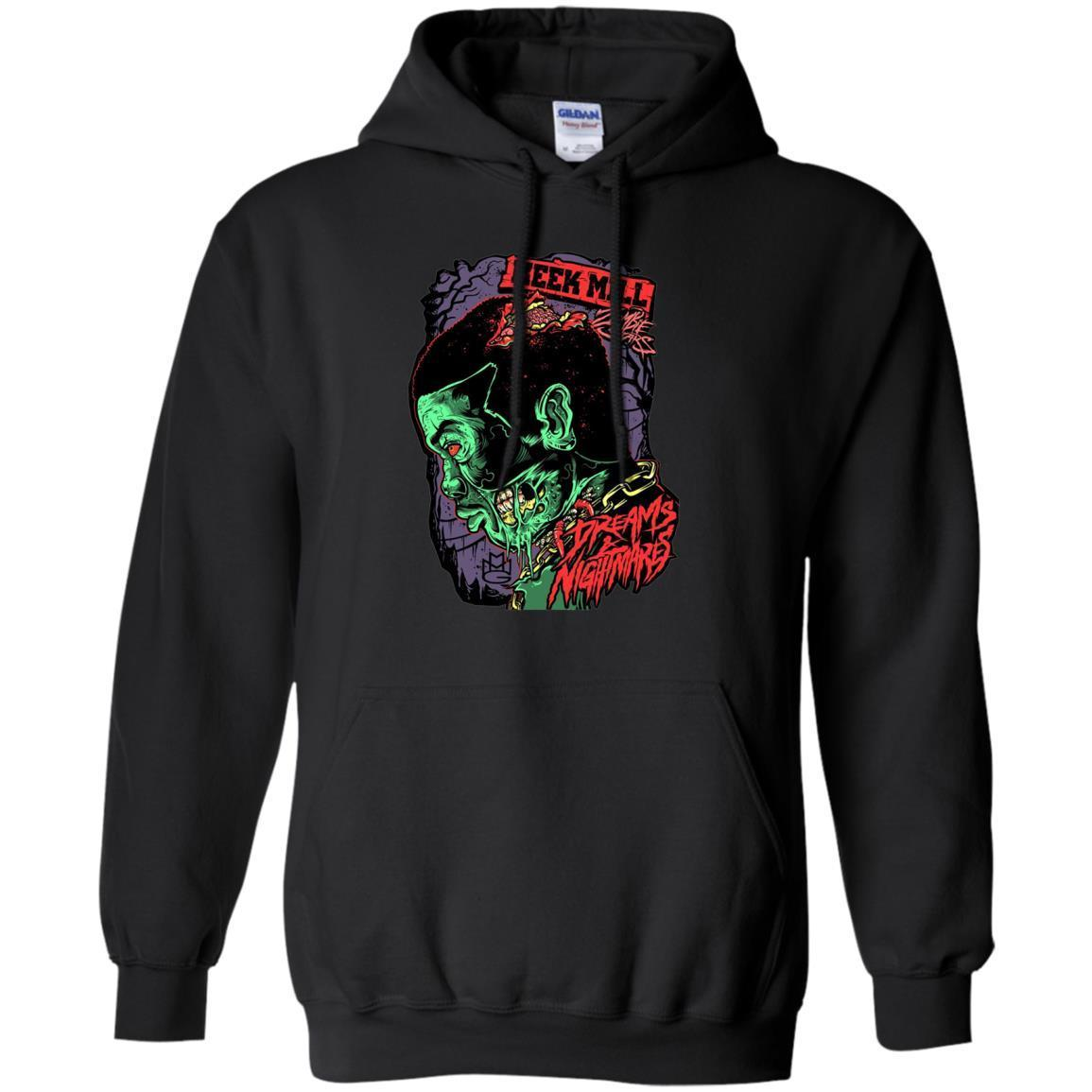 Meek Mill Zombie Tee Shirt Halloween – Pullover Hoodie