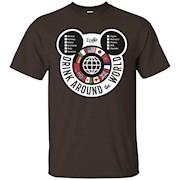 Drink Around the World – EPCOT Checklist – T-Shirt