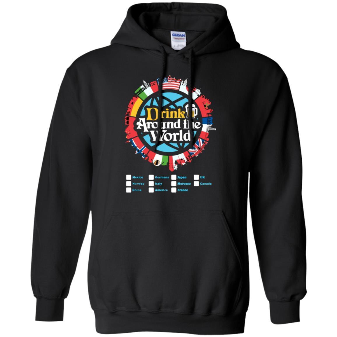 Drink Around the World – Pullover Hoodie