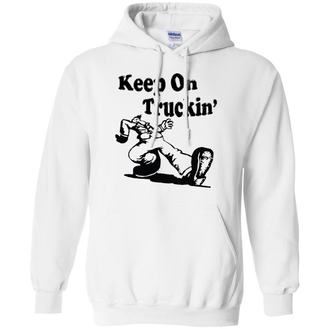Iconic Keep On Truckin' – Pullover Hoodie