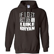 if lost please return to luke name bryan – Pullover Hoodie