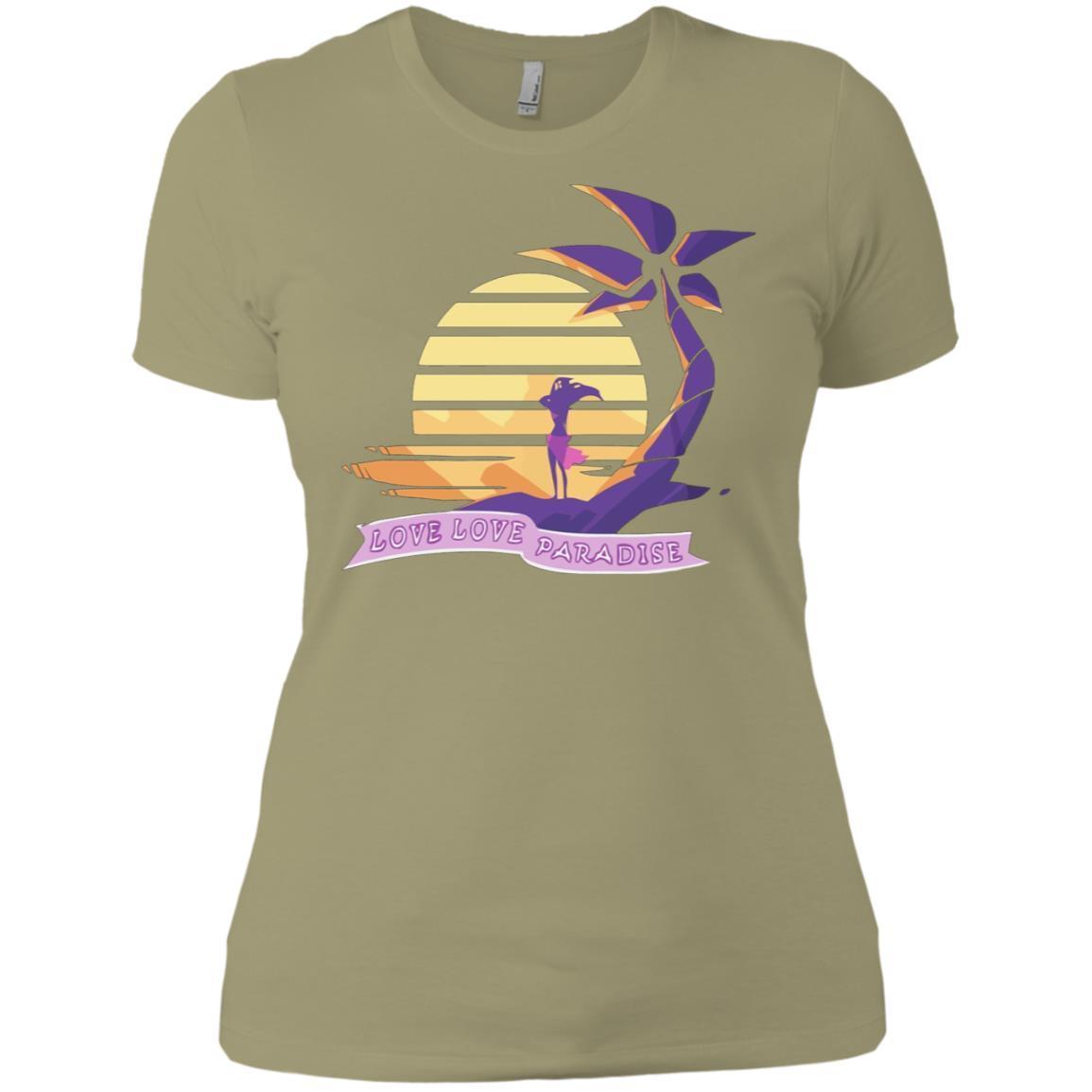 Aphmau Love – Love Paradise  – Ladies' Boyfriend T-Shirt