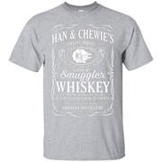 Han & Chewie's Twelve Parsec Straight Smuggler Whiskey – T-Shirt