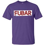 FUBAR Shirt Vintage Military Distressed T-Shirt