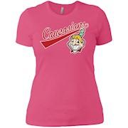 Cleveland Caucasians Native Go Indians – Ladies' Boyfriend T-Shirt
