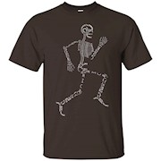 Anatomy Medicine Human Skeleton Bone Name Geek T-Shirt