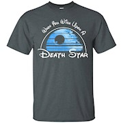 When You Wish Upon A Death Star – T-Shirt