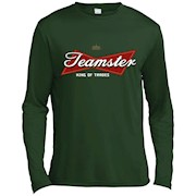 Teamster King of Trades T-shirt – Long Sleeve Tee