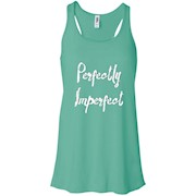Thug Life – Perfectly Imperfect Ladies Racerback Tank