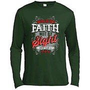 Christian T Shirts Walk By Faith Not By Sight Bible Verses