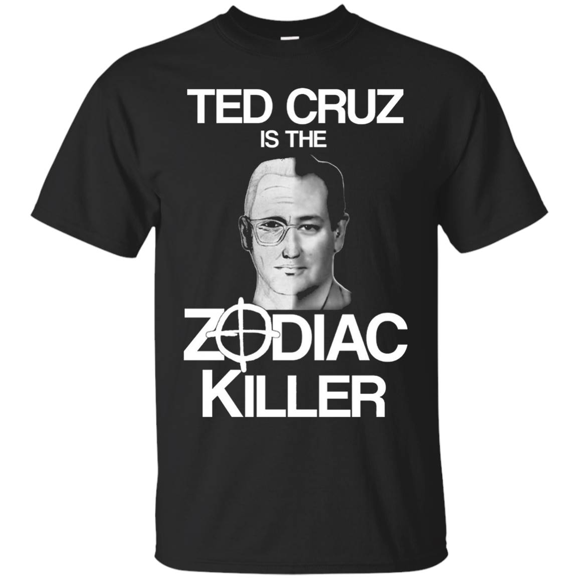 Ted Cruz 2016 Is The Zodiac Killer T-Shirt Side-By-Side T-Shirt
