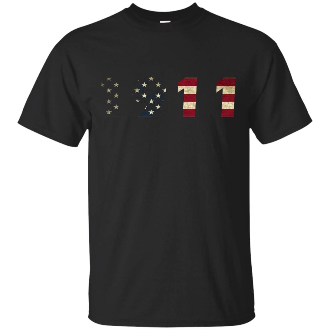 1911 Flag Gun Shirt T-Shirt