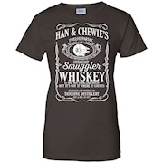 Han & Chewie's Twelve Parsec Straight Smuggler Whiskey T-Shirt