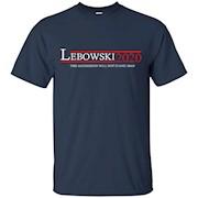 LEBOWSKI PRESIDENT 2020 T-SHIRT