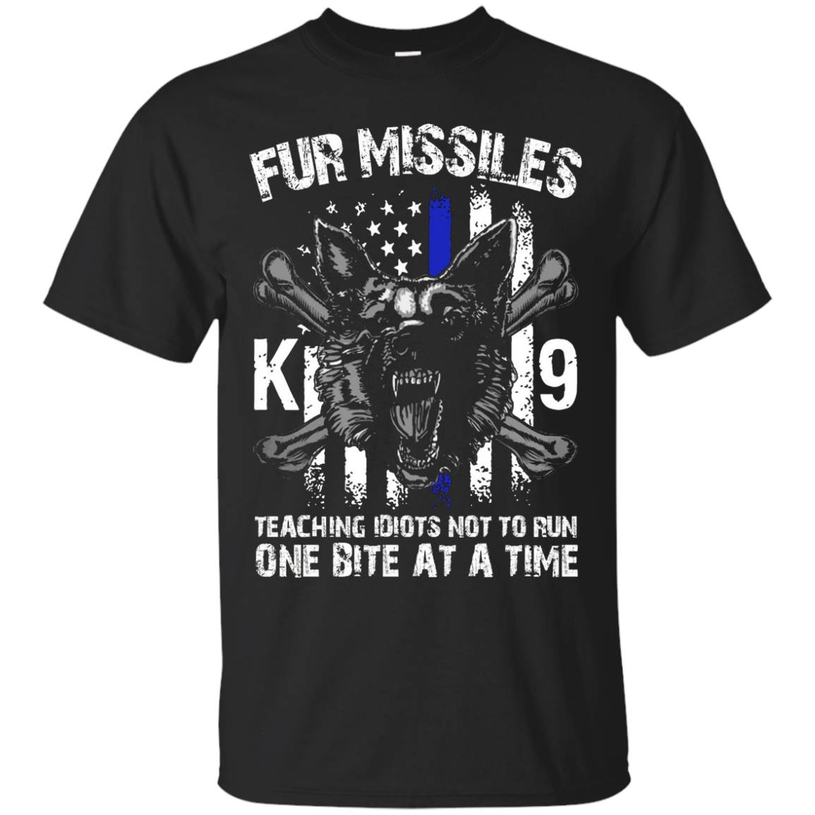 FUR MISSILE K9 T SHIRT – Gifts for Dog Lovers T-Shirt