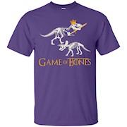 Funny Game Of Bones T-shirt, Dinosaur, T-Rex, Zany Brainy – T-Shirt
