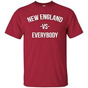 New England Vs Everybody City Football T-Shirt