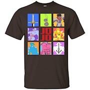 JoJo's Bizarre Adventure – Weapons & Stands T-Shirt