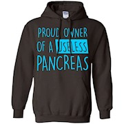 Proud Owner Of A Useless Pancreas Diabetes TShirt