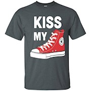 Love This Kiss My Converse- Converse T-Shirt