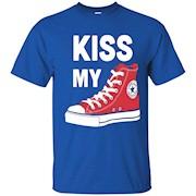 Love This Kiss My Converse- Converse T-Shirt
