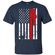American flag special plumber cool gift T shirt 2016 – T-Shirt