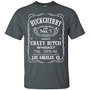 Buckcherry Crazy Bitch Whiskey Los Angeles T-shirt – T-Shirt