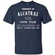 Property Of Alcatraz Funny Swim Team Escape Shirt