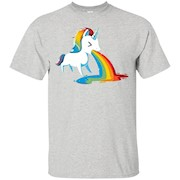 Unicorn Puking Rainbow T-Shirt