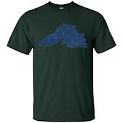 GITCHE GUMEE Lake Superior Michigan Vintage T-Shirt