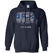Life is Good. Camping Women's Crusher Tee – Airstream Hello T-Shirt