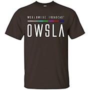 Men's OWSLA World Wide Broadcast Various Artists T-Shirt